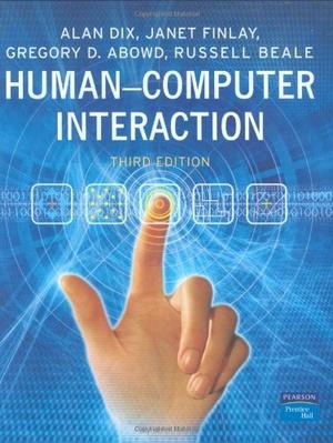 Human-Computer Interaction 3ed.