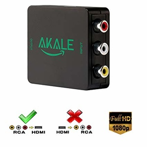 Akale RCA to HDMI Adapter