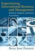 Experiencing International Buisness and Management/2E