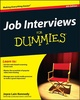 For Dummies: Job Interviews For Dummies